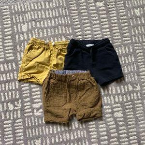 Zara shorts bundle - 12-18m